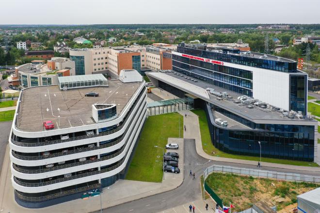Клинический госпиталь «Лапино»: 2 очередь