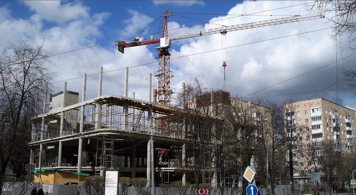 Реконструкция кинотеатра «Алмаз»